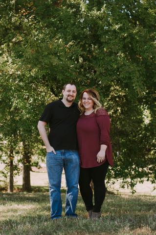Laura & Josh | A Sweet Fall Engagement Session | Memphis, TN | Memphis Engagement Photographer