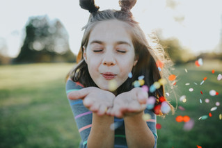 Kylee Grace | A Bright Artsy Birthday Session | Memphis Family Photographer