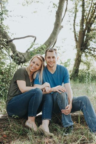 April & Kevin | A Baby Announcement | Memphis, TN | Memphis Lifestyle Photographer