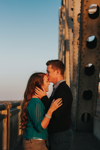 Stephanie & Jon | A Sweet, Downtown Memphis Engagement Session | Memphis Engagement Photographer
