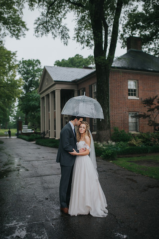 Jake + Shelby | A Rainy Day Metal Museum Wedding | Memphis Wedding Photographer