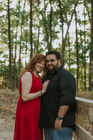 Amanda & Zack | A Relaxed Park Engagement Session | Olive Branch, MS | Memphis Engagement Photog