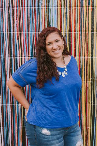 Lauren | A Colorful Downtown Senior Session | Memphis Senior Photographer