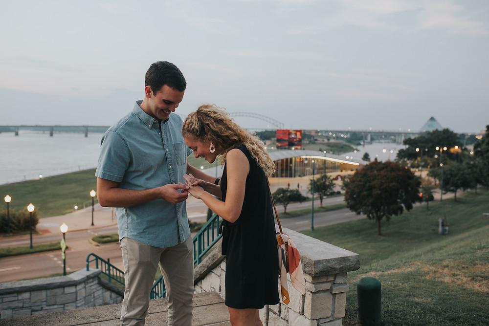 Memphis Proposal Photographer
