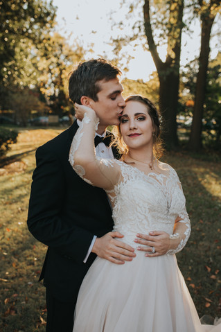 Will + Kayla Wedding | A Winter Wedding at The Woodruff-Fontaine House Museum | Memphis Wedding Phot