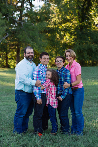 Kratzer Family | A Fall Family Session | Memphis, TN | Memphis Family Photographer