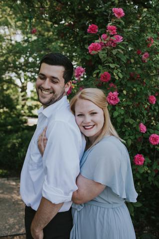 Jordan & Jacob   An Engagement Session   Memphis Botanic Garden   Memphis Wedding Photographer