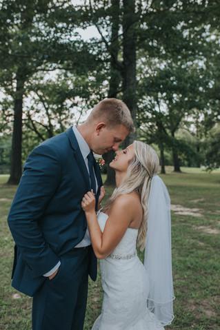 A Summer Wedding at Heartwood Hall | Mr. & Mrs. Lunday | Memphis Wedding Photographer