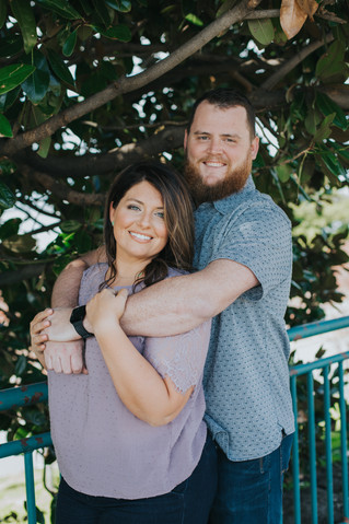 Meredith + Matt | A Memphis Engagement Session | Memphis Wedding Photographer