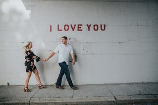 Ren & Holly | Engagement Session | Dog Park & Margaritas | Memphis Wedding Photographer