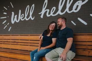 Taylor & Jordan   A Midtown Engagement Session   City & State   Memphis Wedding Photographer