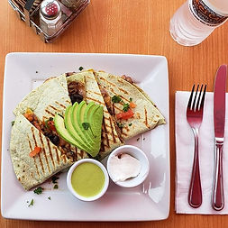 Meat lovers! #steak #quesadilla _#yelp #