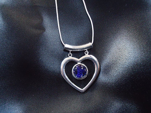 Heart Shaped Pebble Necklace