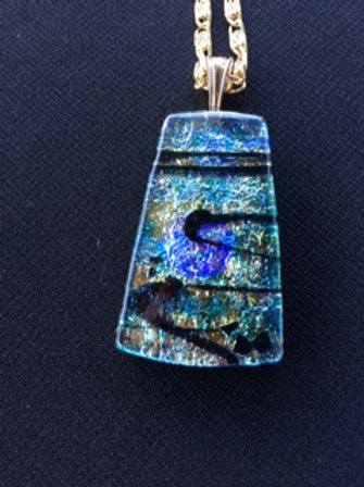Multiple layers of dichroic glass