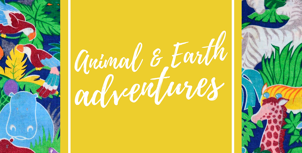 Animal and Earth Adventure camp! July 20-22, 1-4pm daily