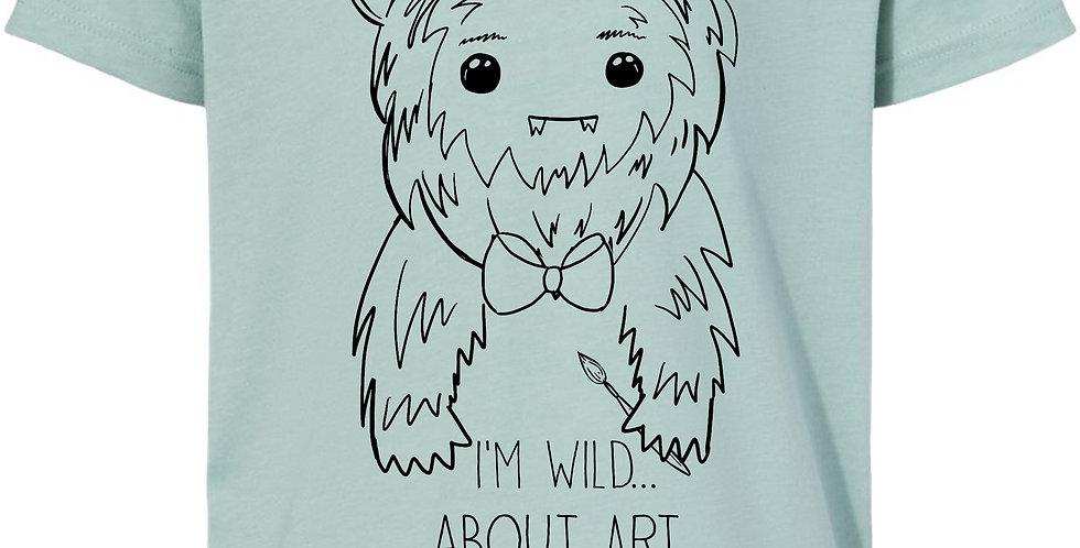 WILD about ART! 2021 Camp shirt