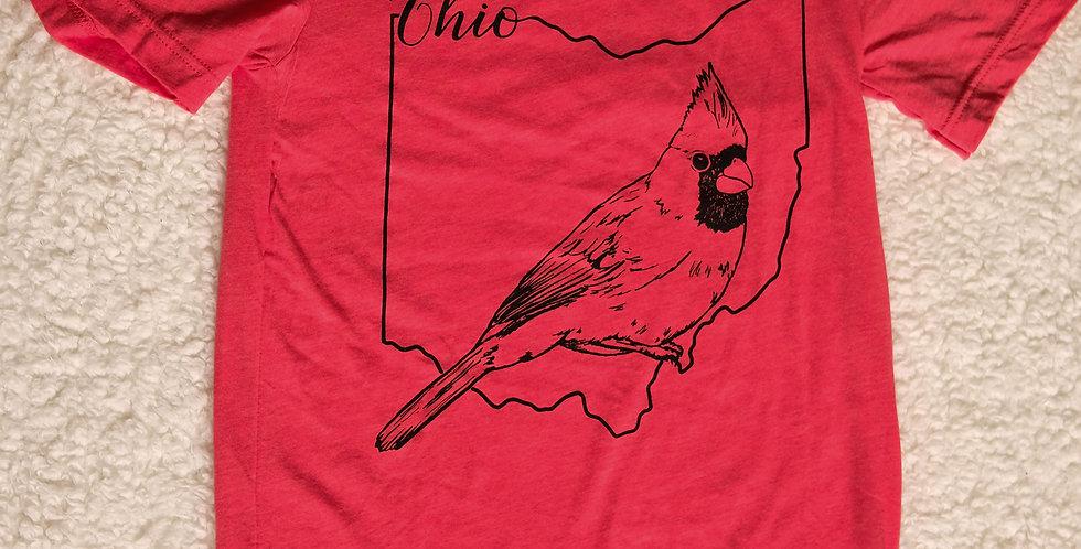 Cardinal Ohio Unisex Tee