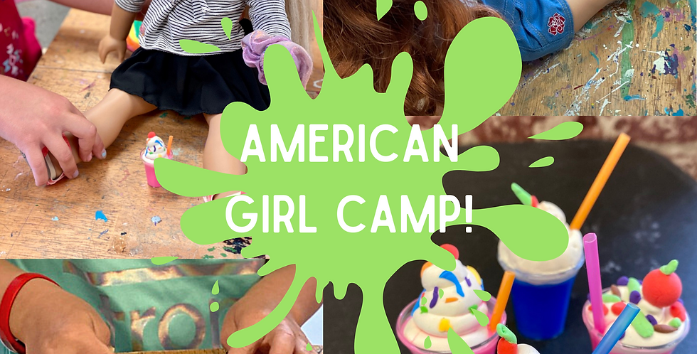 American Doll Camp! Friday, July 2nd 9:30am-1pm
