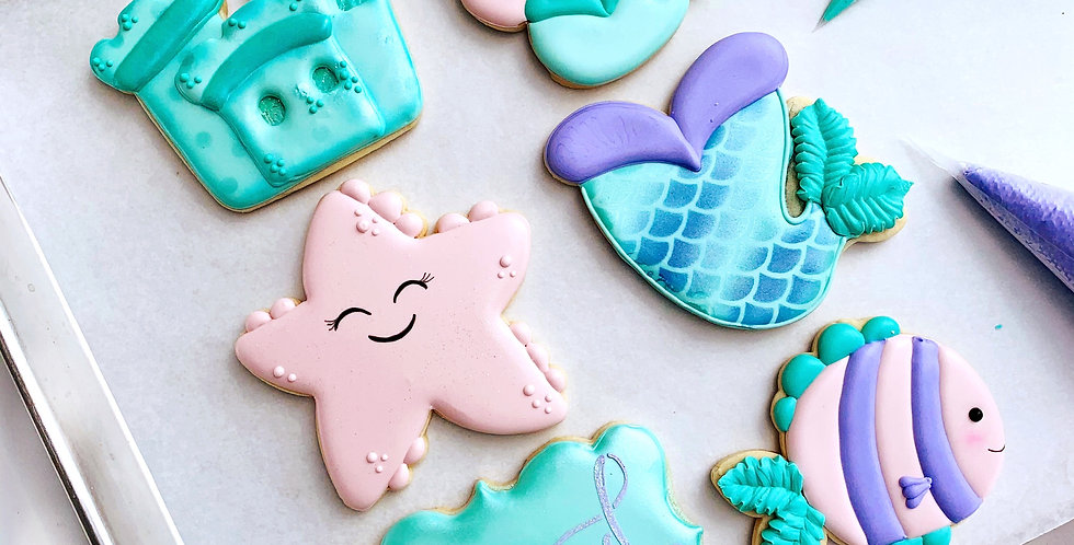 Intermediate Cookie Decorating with Stephanie - Sat June 26th @ 10am-12:30pm