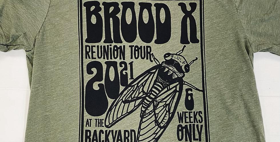Cicada Brood X 2021- Unisex Triblend Tee