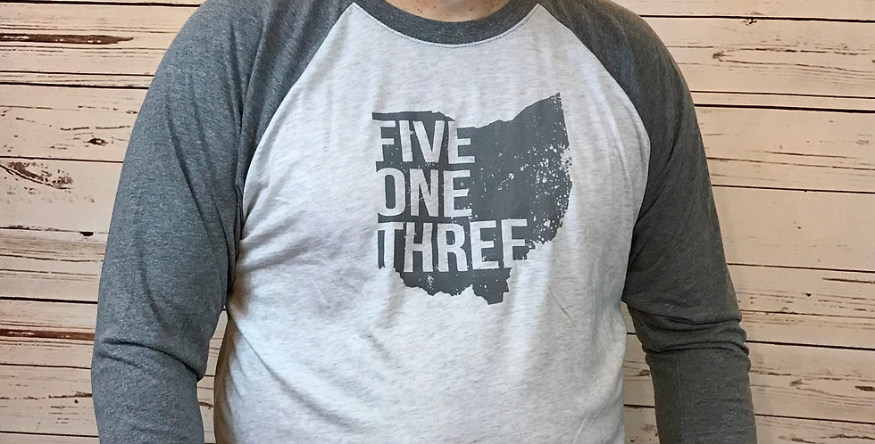 Five One Three - Unisex Baseball Tee