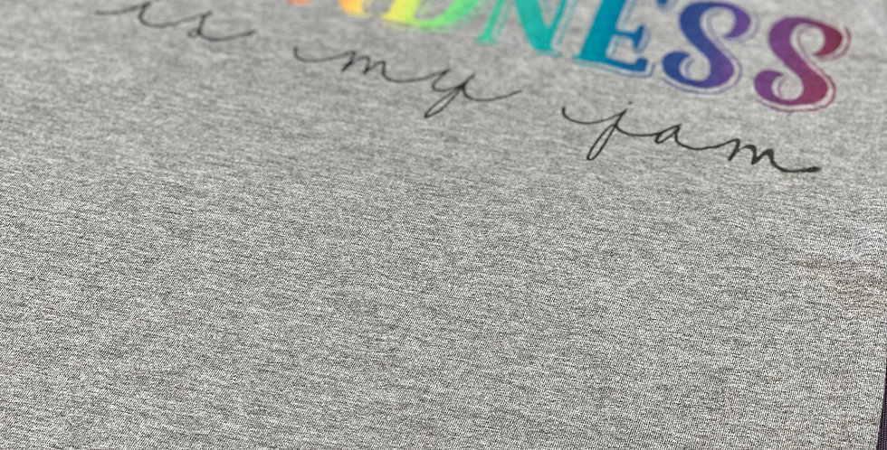 Kindness is my JAM Rainbow KIDS Tee