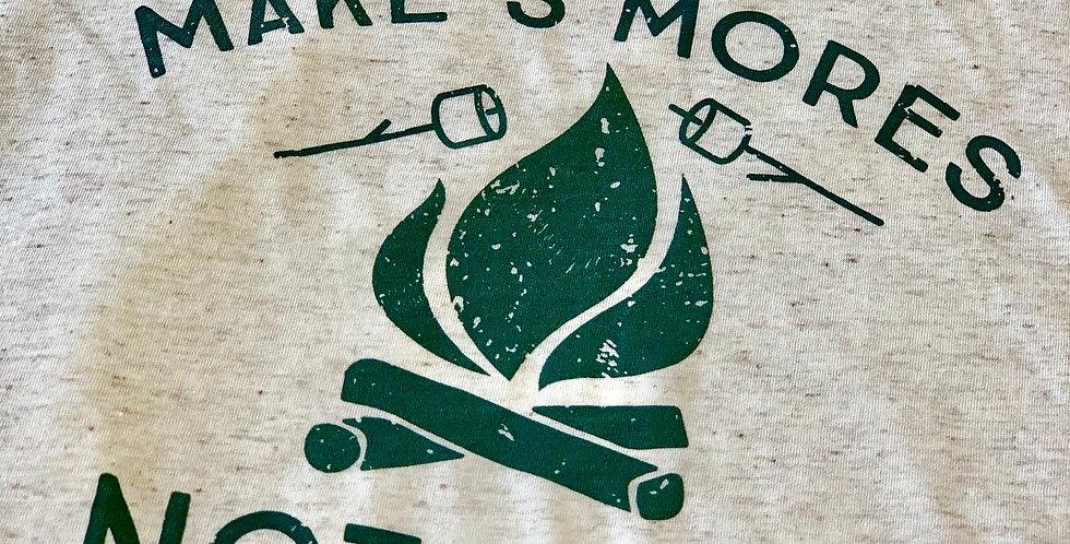 Make S'mores, Not Wars - Unisex Triblend Tee
