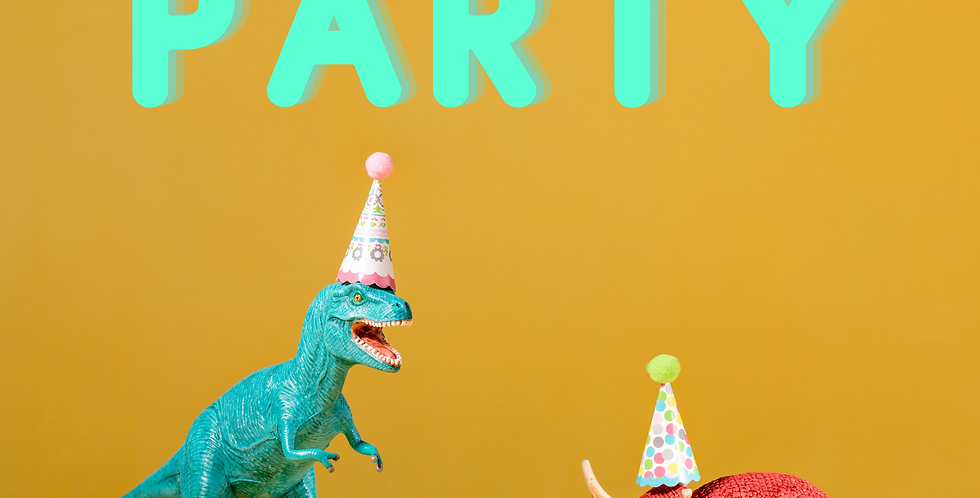 Prehistoric Party Mini-CAMP! Friday, July 23rd 9am - 12:30pm