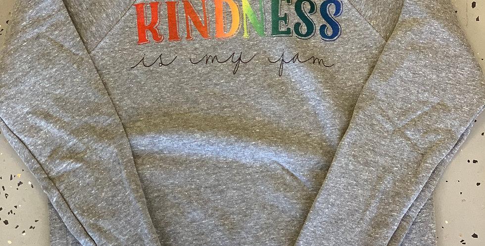 Kindness is my JAM Unisex Crew Neck Sweatshirt