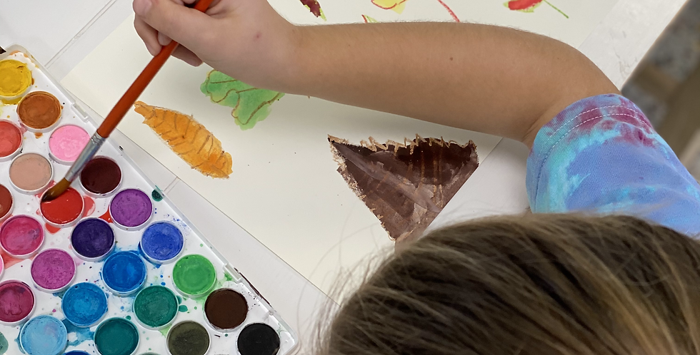 Winter BEGINNERS After School Art Club, Weekly for grades 1-4