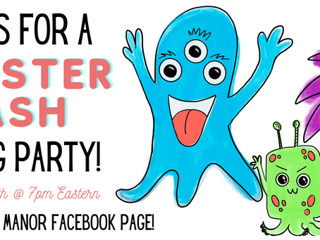 FREE Live Monster Mash Paint-along!