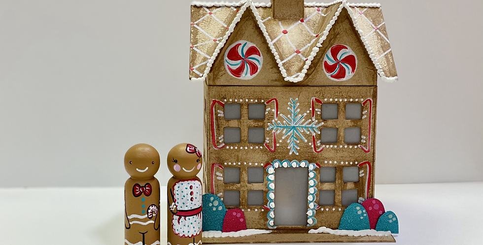Gingerbread House - Winter Break Camp at HOME