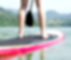 close-up-woman-standup-paddling-with-oar