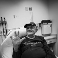 a patient describes how he received three partial finger amputations 20 years ago
