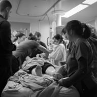 multi-disciplined team provides post-intubation care