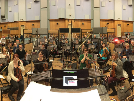 Abbey Road Studio 1, 2 & 3                    Three Amazing weeks