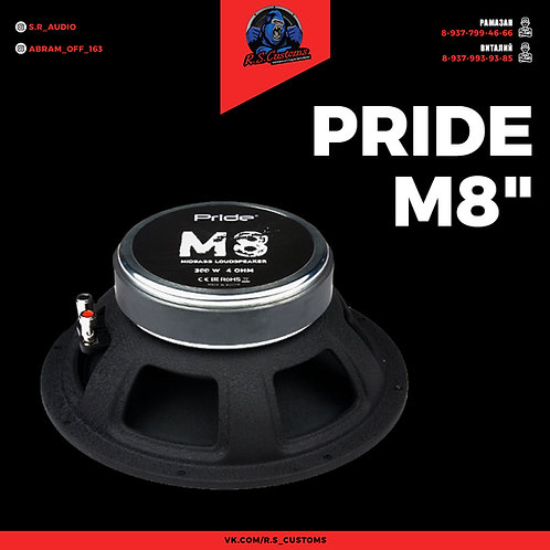 "Pride M8"""