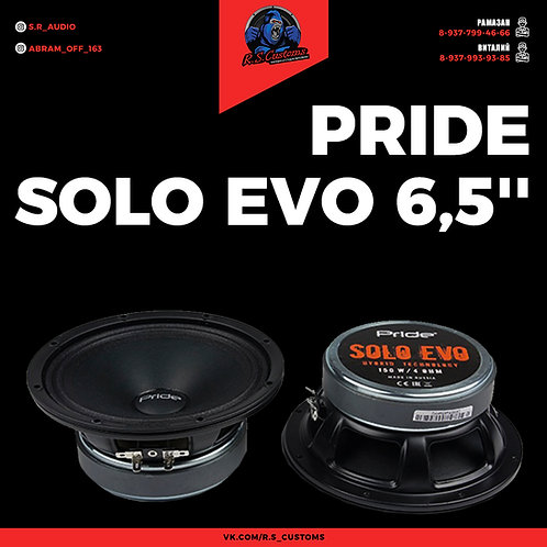 """Pride Solo EVO 6,5"""""""