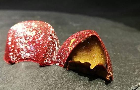 Mandarine-Nelke und Vanille-Frischkäse P