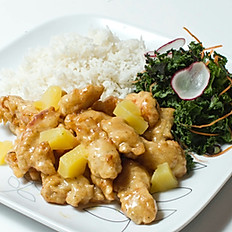Pineapple Honey Chicken