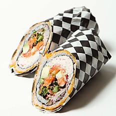 Salmon Rollrrito