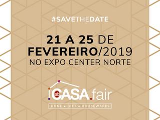 Aberto o credenciamento para a ABCasa Fair de fevereiro de 2019, que terá 500 expositores e 50 mil l