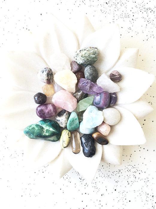 krystal krystaller spirituelle sten spiritualitet tro vejleding dekoration healing lotus blomst