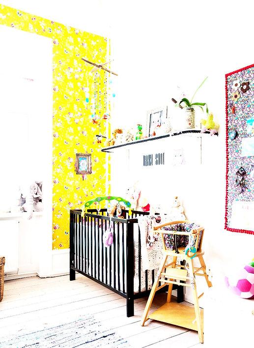 børn børneværelse ryd op ro himmelvåger drømmefanger mobile uro rådgivning indretning