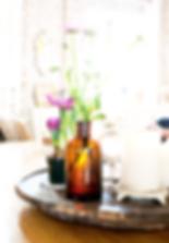 bolig rum indretning feng shui stemning dekoration blomst køkken