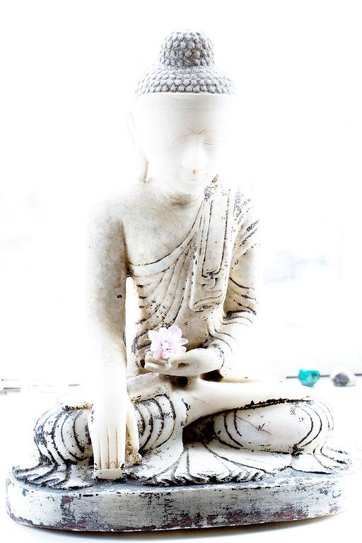 buddha tro himlen fred ro figur healing budskaber