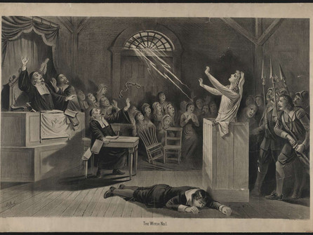 May 14 Salem's Witch Trials