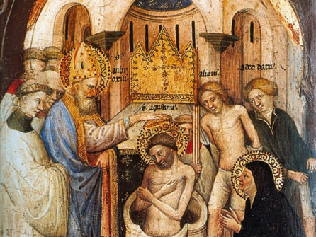 Apr 24 Baptism of St Augustine