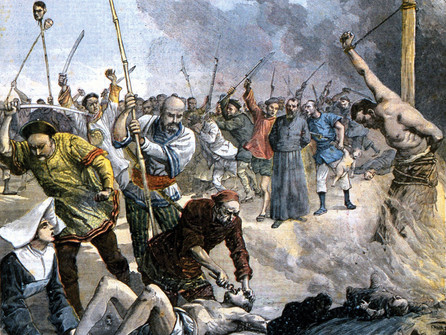 July 1 The Boxer Uprising leads the first martyr from Yale