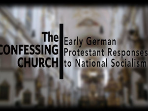 May 30 The Confessing Church resisting the Nazis